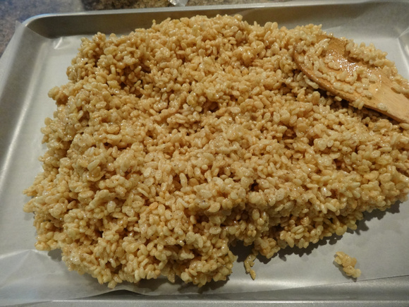 How I Gained 5 Pounds- Browned Butter Rice Krispie Treats